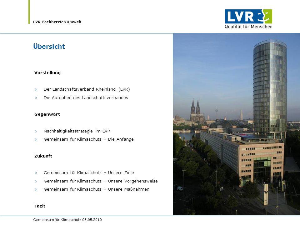 Übersicht Vorstellung Der Landschaftsverband Rheinland (LVR)