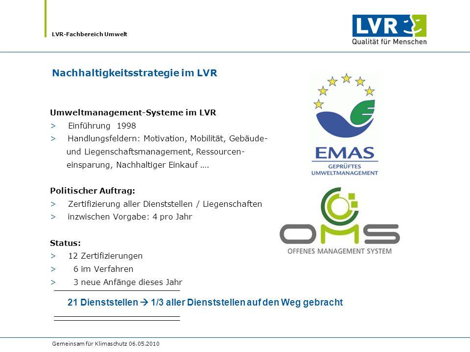 Nachhaltigkeitsstrategie im LVR