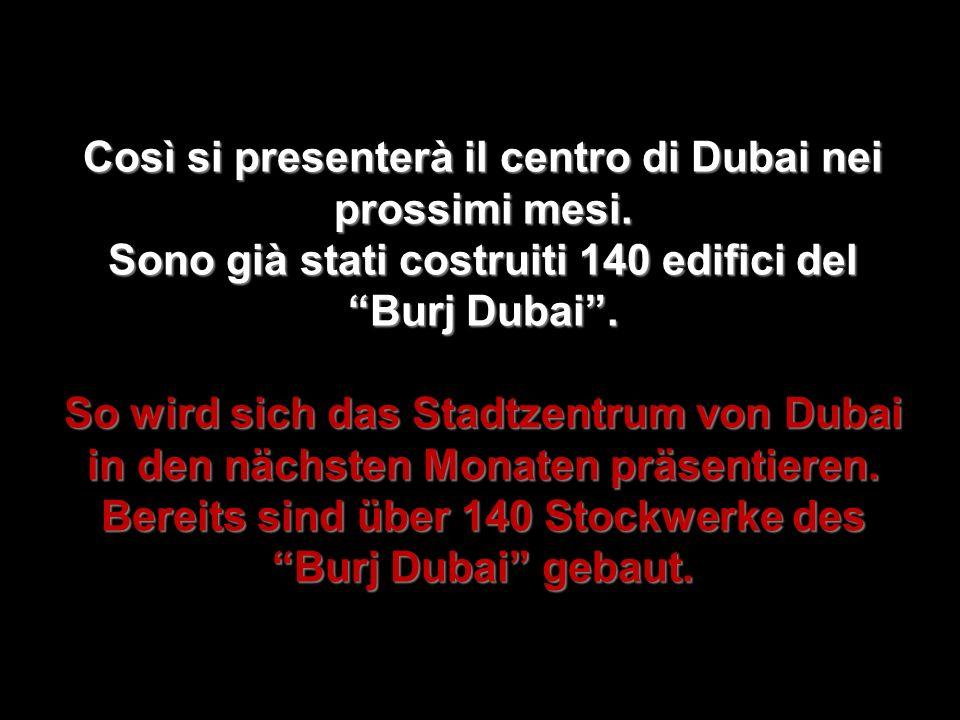 Così si presenterà il centro di Dubai nei prossimi mesi