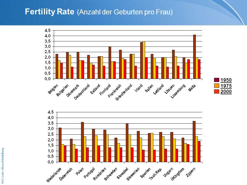Fertility Rate (Anzahl der Geburten pro Frau)