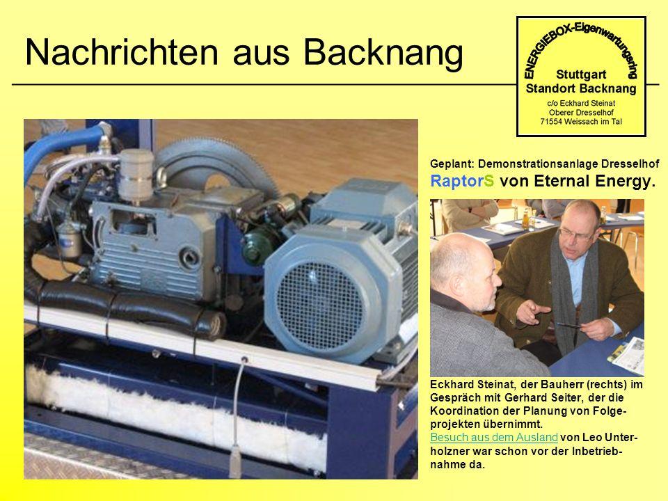 Nachrichten aus Backnang