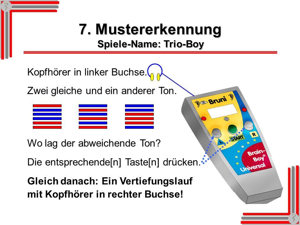 Spiele-Name: Trio-Boy