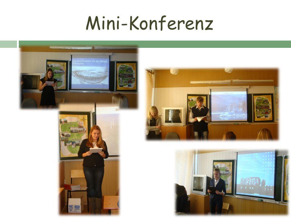 Mini-Konferenz