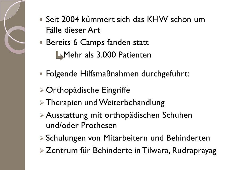 Seit 2004 kümmert sich das KHW schon um Fälle dieser Art