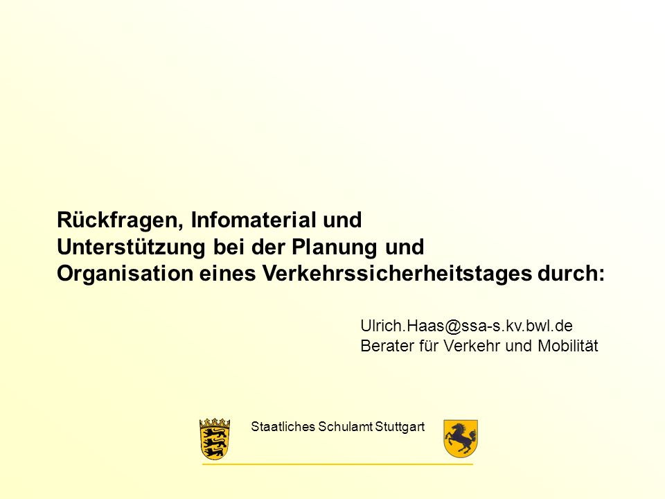 Staatliches Schulamt Stuttgart