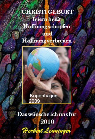 Herbert Leuninger CHRISTI GEBURT feiern heißt Hoffnung schöpfen und