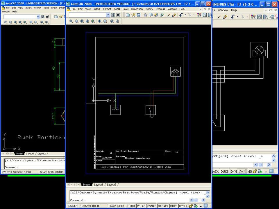 C A D Computer Aided Design Plane Deine Arbeit! Arbeite mit Programm!