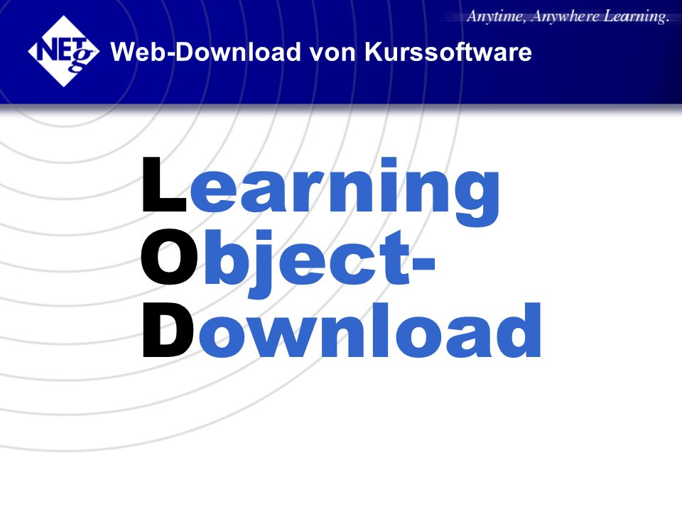 Web-Download von Kurssoftware
