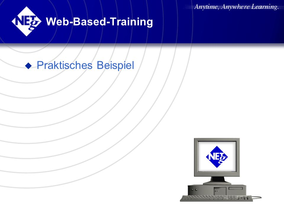 Web-Based-Training Praktisches Beispiel