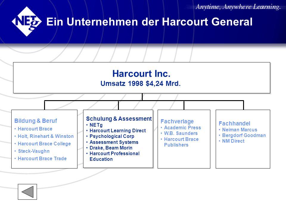 Ein Unternehmen der Harcourt General