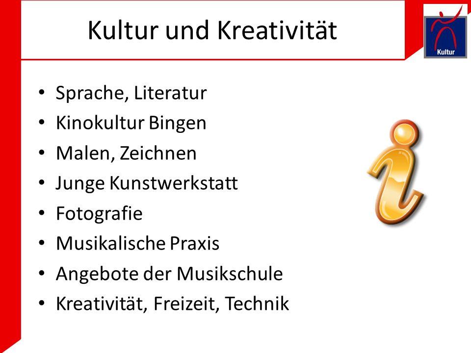 Kultur und Kreativität