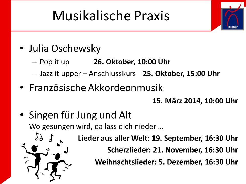 Musikalische Praxis Julia Oschewsky Französische Akkordeonmusik