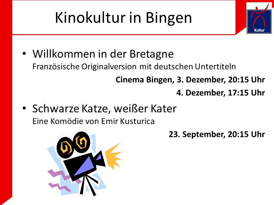 Kinokultur in Bingen Willkommen in der Bretagne Französische Originalversion mit deutschen Untertiteln.