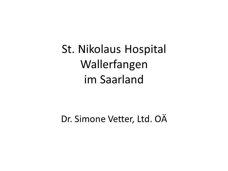 St. Nikolaus Hospital Wallerfangen im Saarland