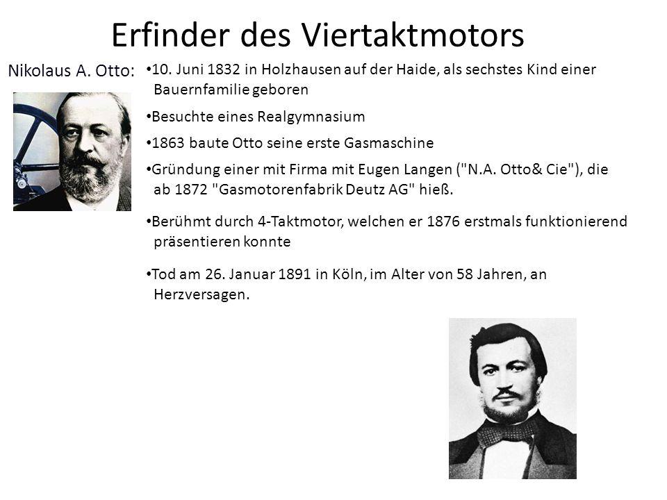 Erfinder des Viertaktmotors