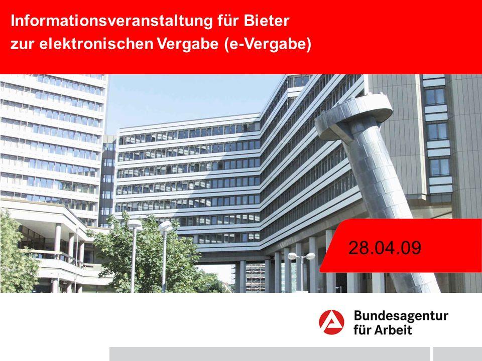 28.04.09 Informationsveranstaltung für Bieter