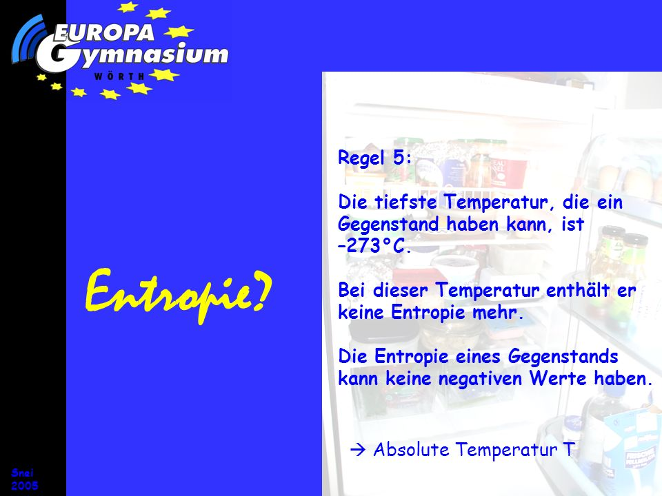  Absolute Temperatur T