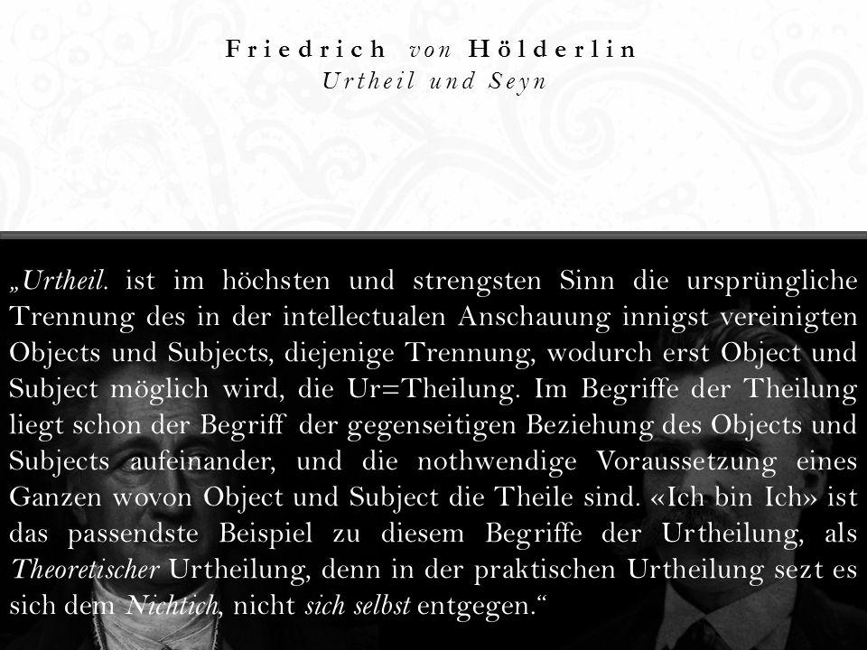 Friedrich von Hölderlin