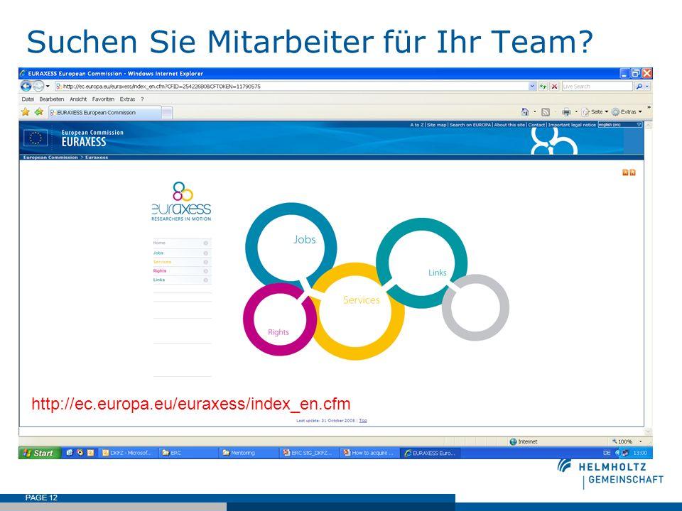 Suchen Sie Mitarbeiter für Ihr Team