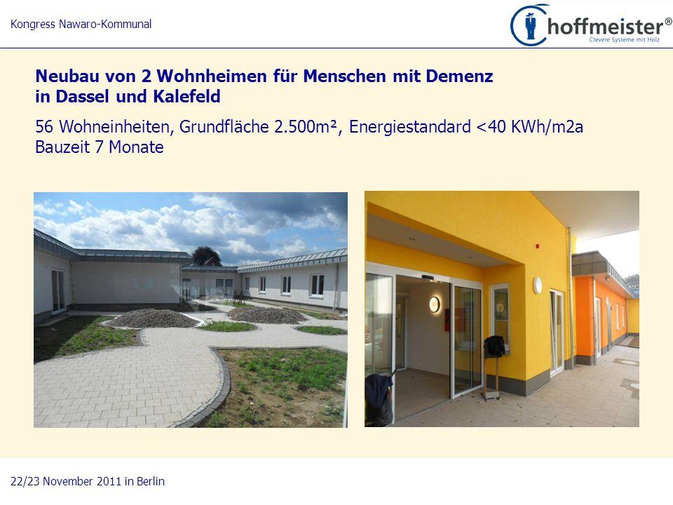 Neubau von 2 Wohnheimen für Menschen mit Demenz in Dassel und Kalefeld