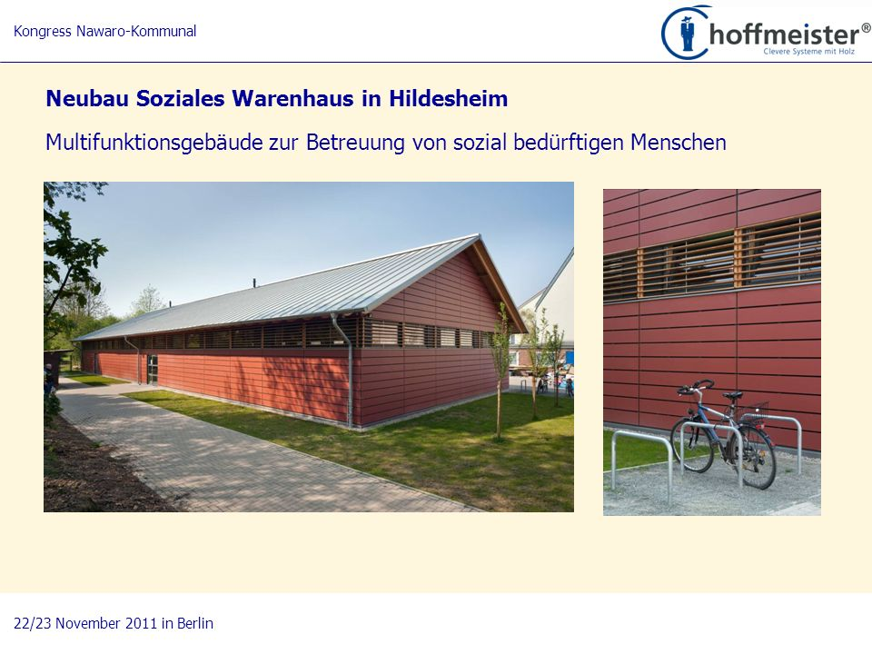 Neubau Soziales Warenhaus in Hildesheim