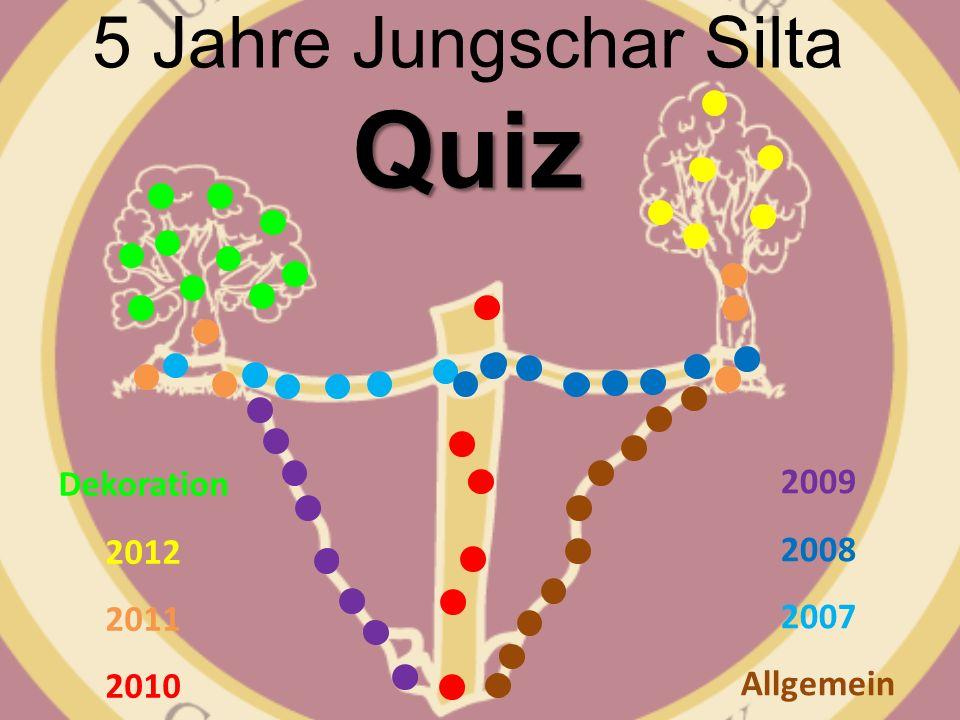 5 Jahre Jungschar Silta Quiz