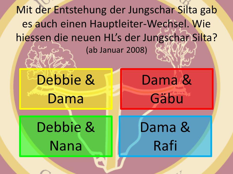 Debbie & Dama Dama & Gäbu Debbie & Nana Dama & Rafi