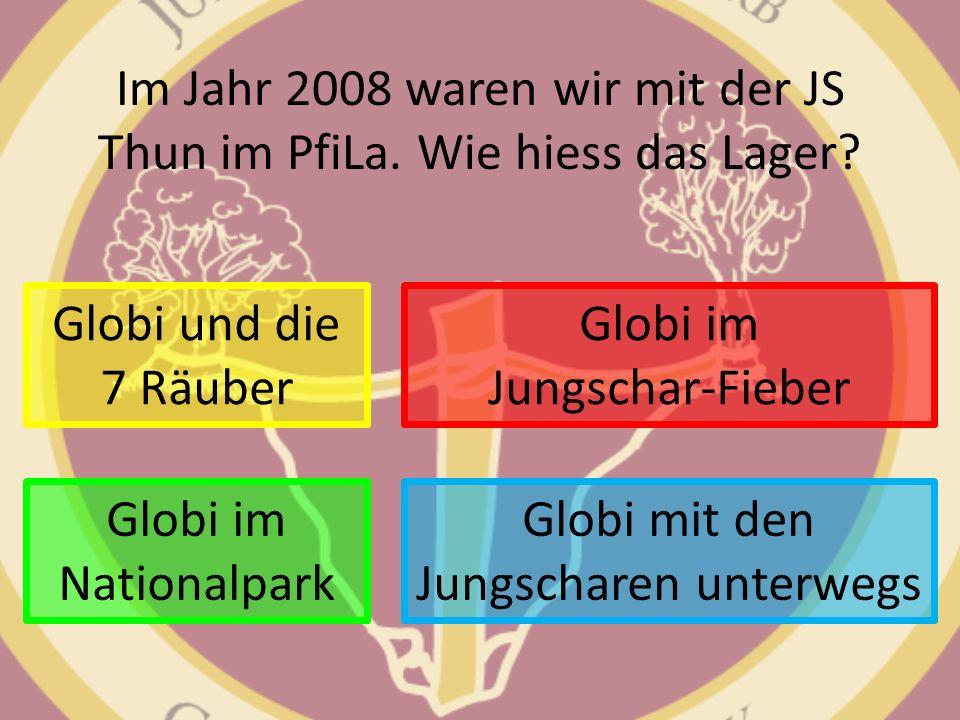 Im Jahr 2008 waren wir mit der JS Thun im PfiLa. Wie hiess das Lager
