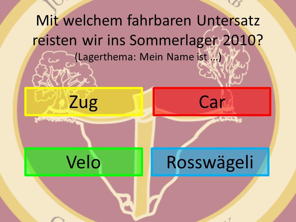 Zug Car Velo Rosswägeli