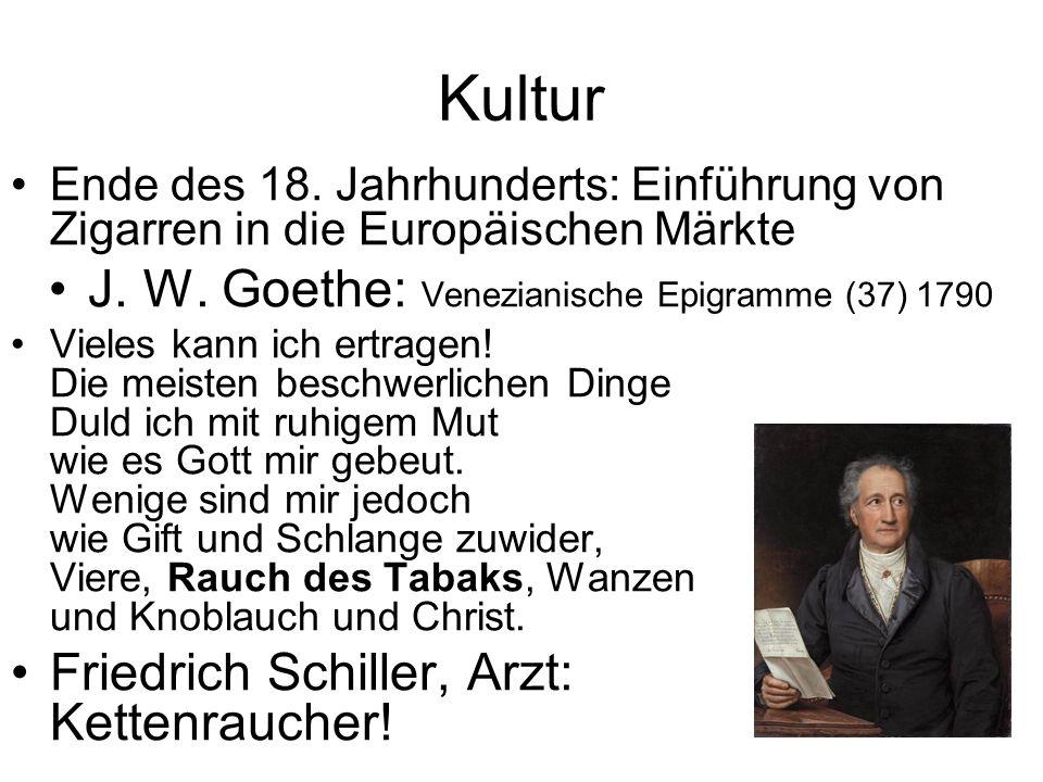 J. W. Goethe: Venezianische Epigramme (37) 1790