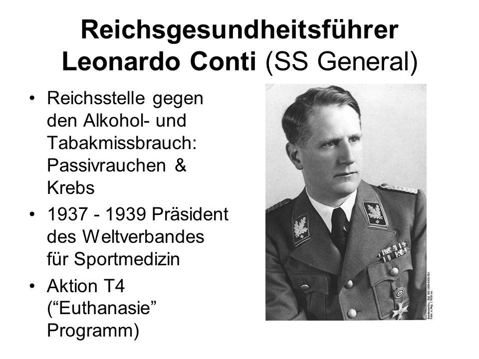 Reichsgesundheitsführer Leonardo Conti (SS General)