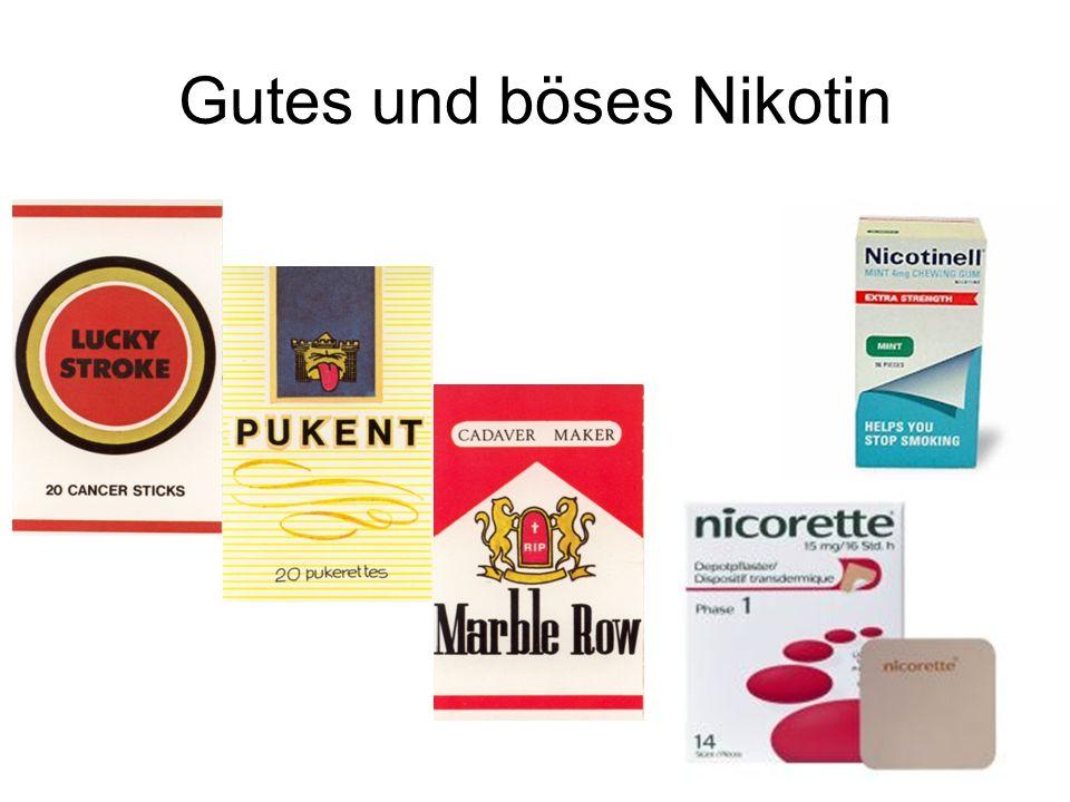 Gutes und böses Nikotin