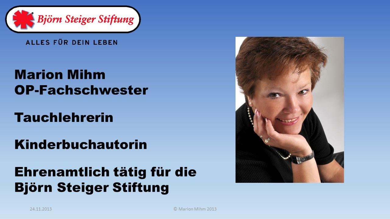 Marion Mihm OP-Fachschwester