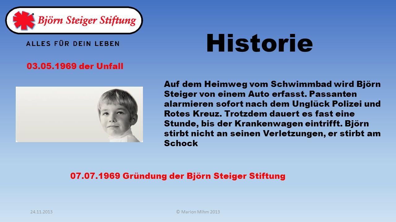Historie 03.05.1969 der Unfall.