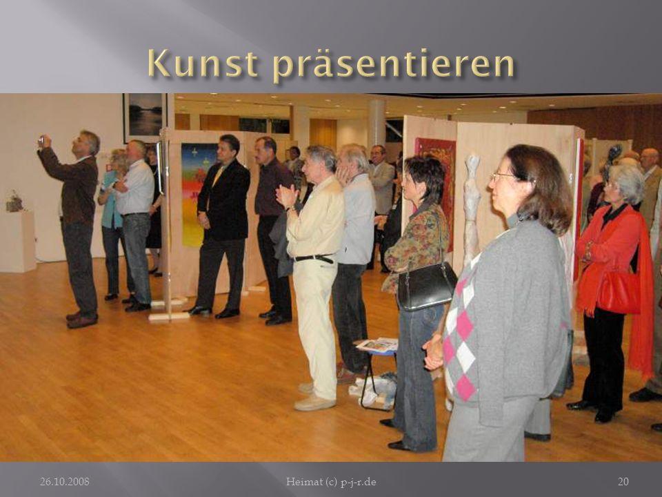 Kunst präsentierenDie Stadt Ober-Ramstadt ist gern Gastgeber für die Ausstellungen der hieisigen Künstlergemeinschaft.