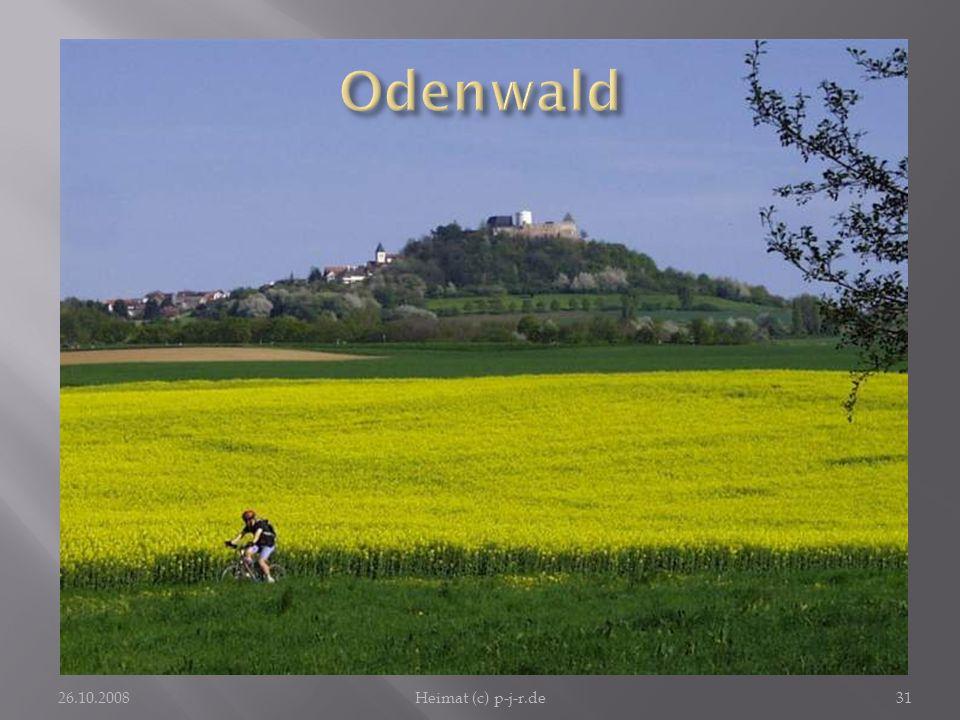 Odenwald Der Blick auf den Otzberg ist so schön wie ein Ausflug dorthin.