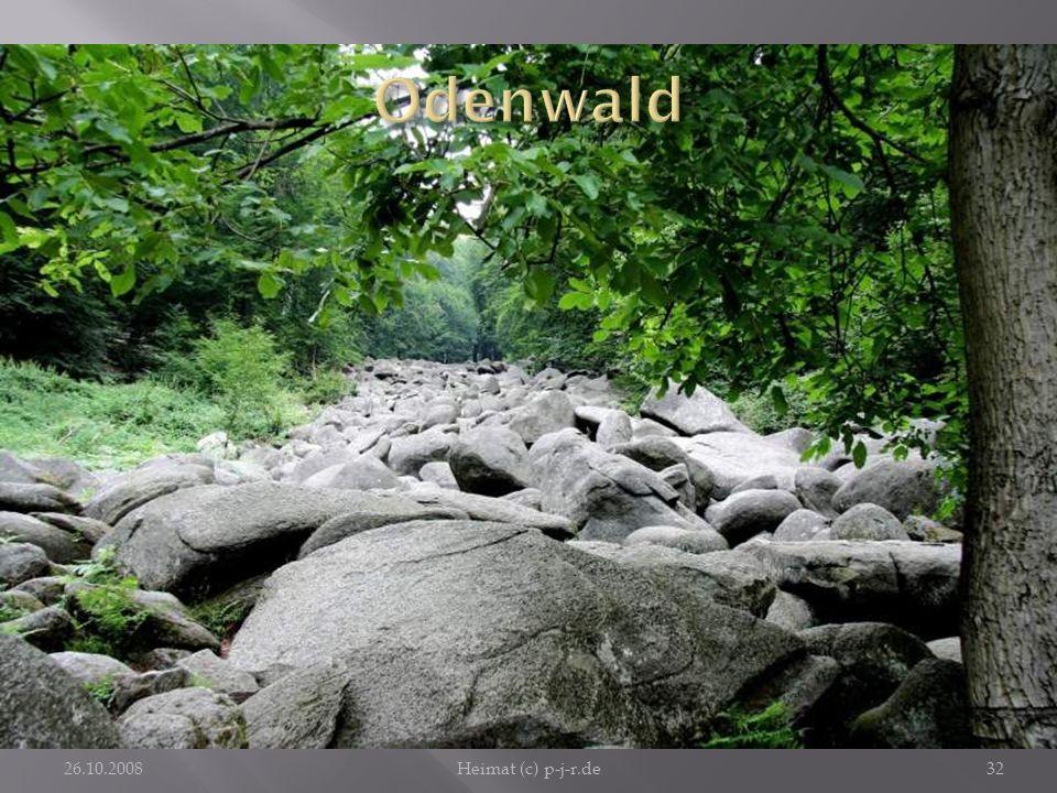 Odenwald Beeindruckendes Ausflugsziel ist auch das nahe Felsenmeer.