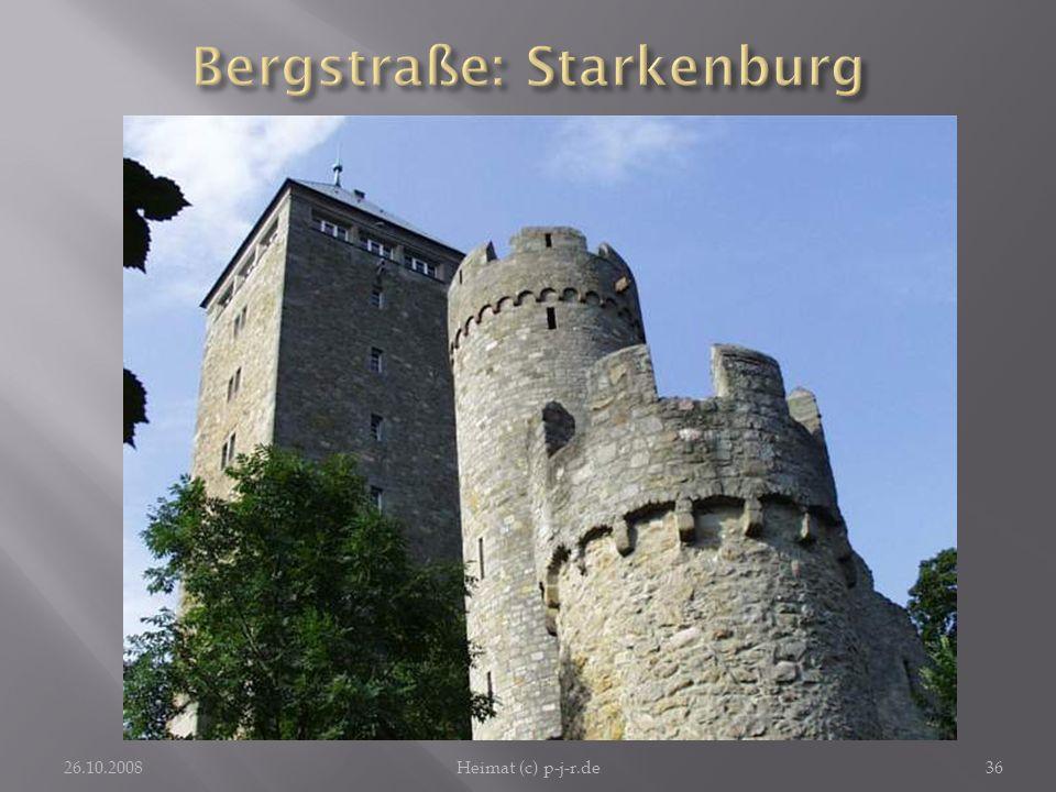Bergstraße: Starkenburg