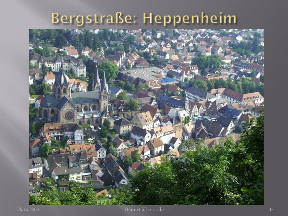 Bergstraße: Heppenheim