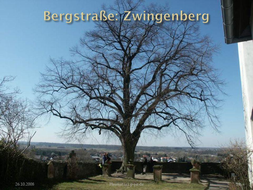 Bergstraße: Zwingenberg