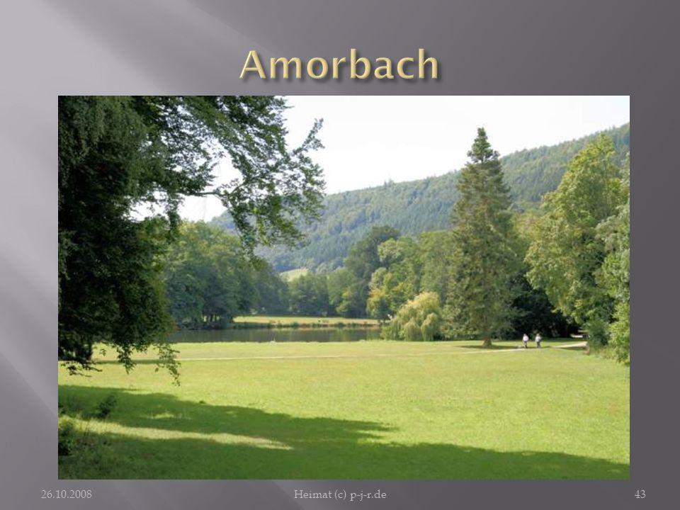AmorbachDie Fürstliche Parkanlage in Amorbach lädt nicht nur deren Eigentümer zum freudigen Spaziergang ein. Schön ist es dort.