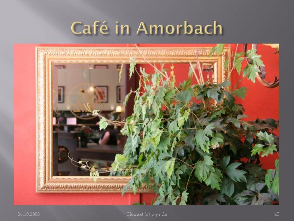 Café in Amorbach