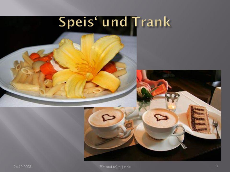 Speis' und Trank