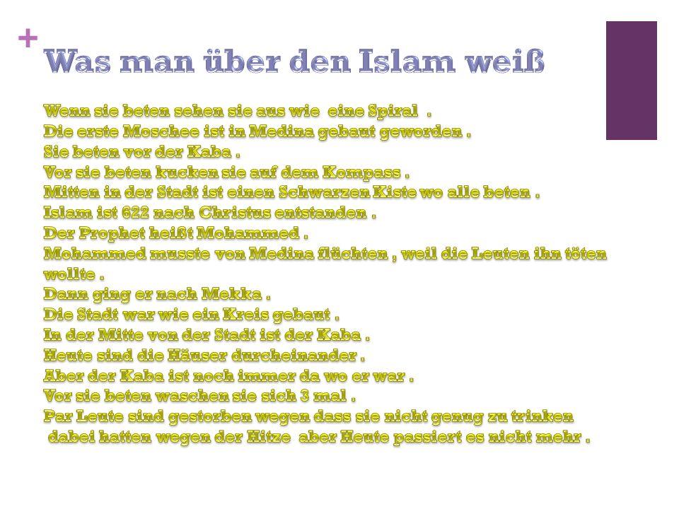 Was man über den Islam weiß