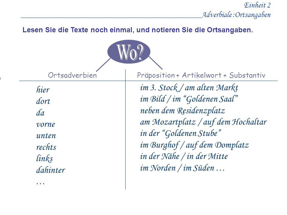 Präposition + Artikelwort + Substantiv