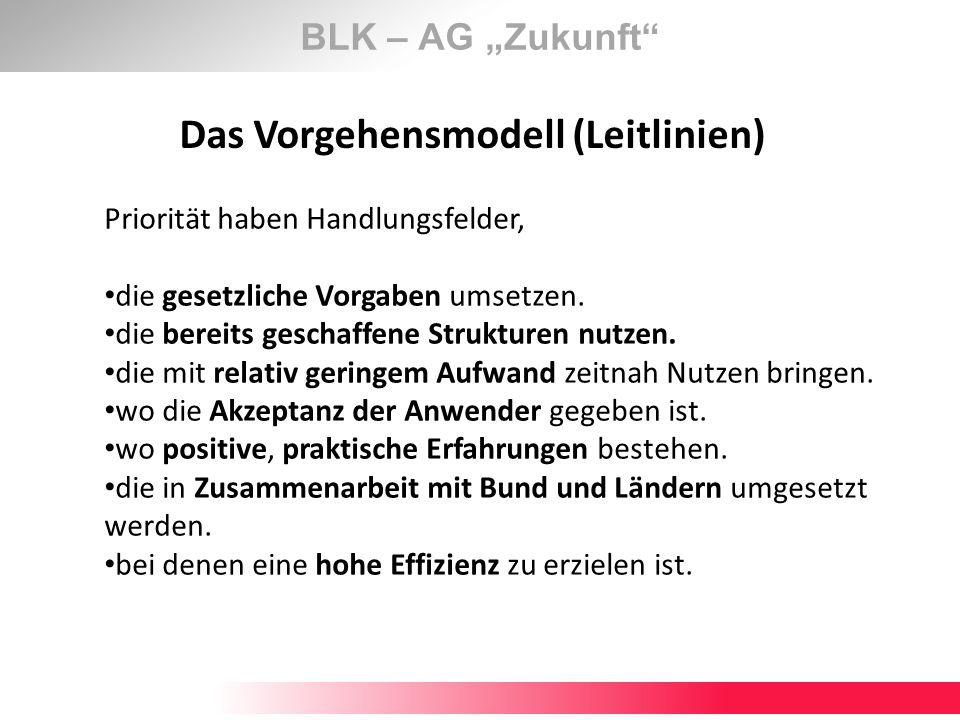 Das Vorgehensmodell (Leitlinien)