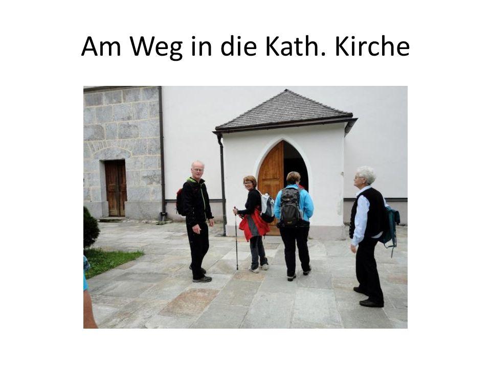 Am Weg in die Kath. Kirche