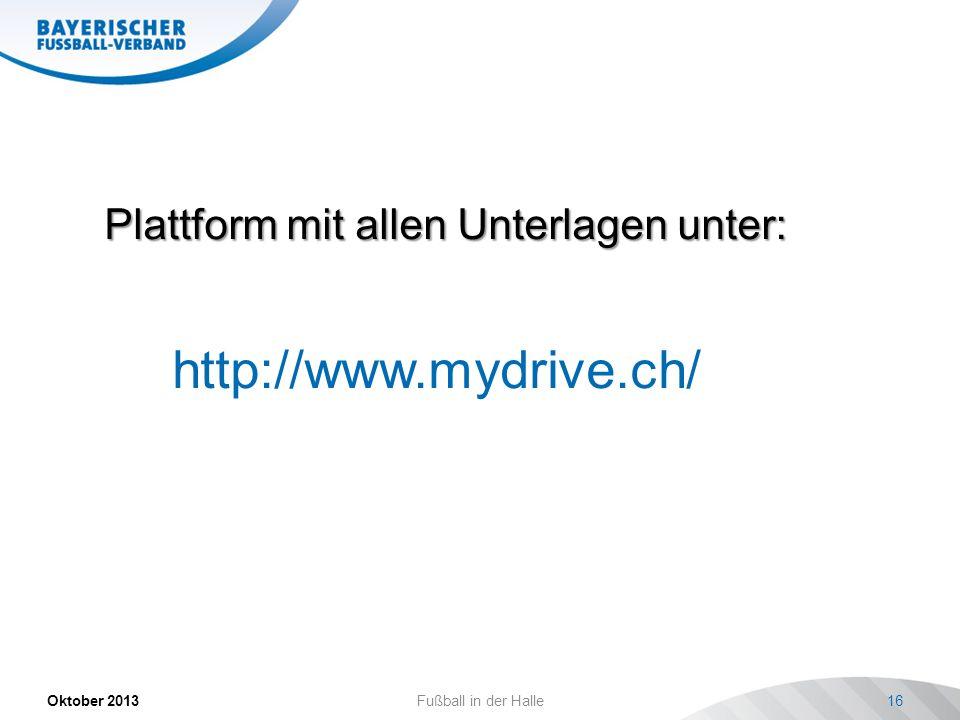 http://www.mydrive.ch/ Plattform mit allen Unterlagen unter: