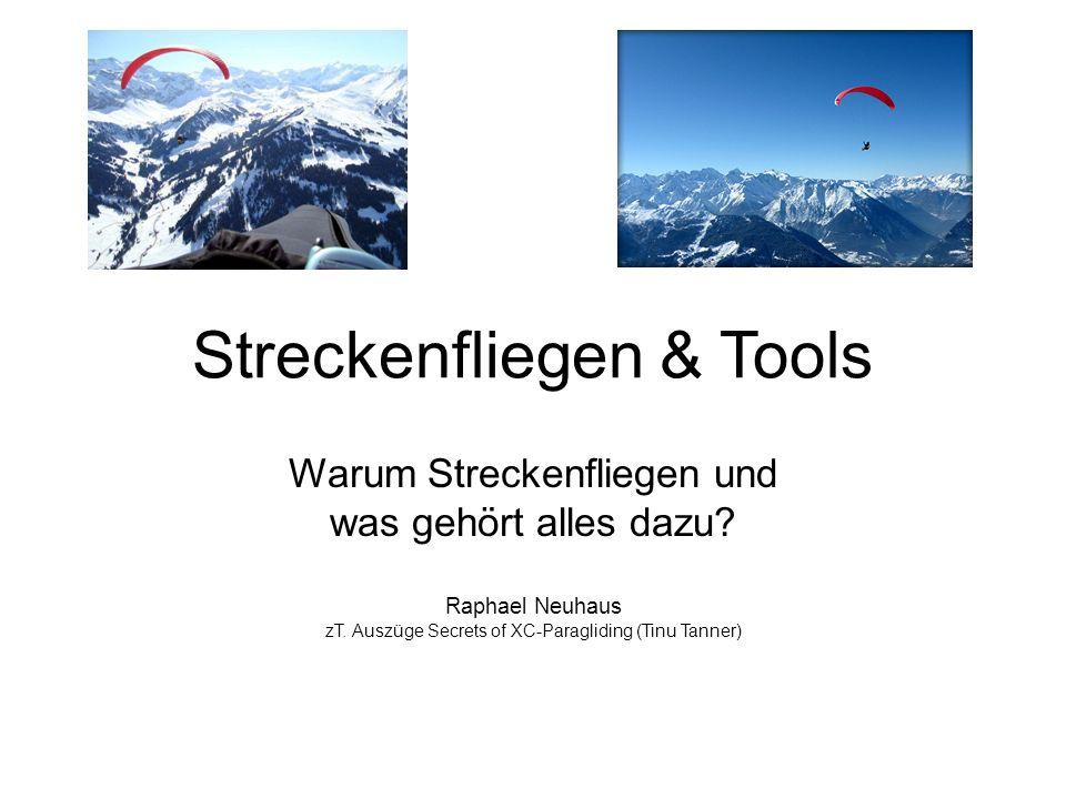 Streckenfliegen & Tools