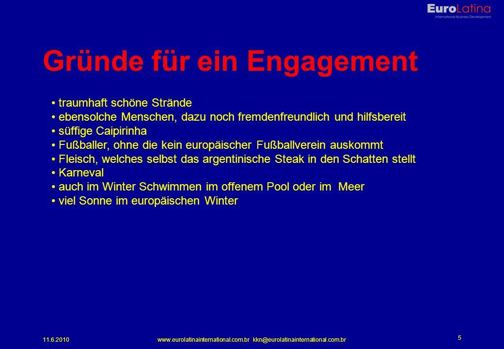 Gründe für ein Engagement